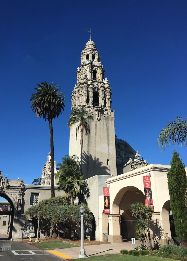 Visit Balboa Park. Where to go in San Diego with kids.