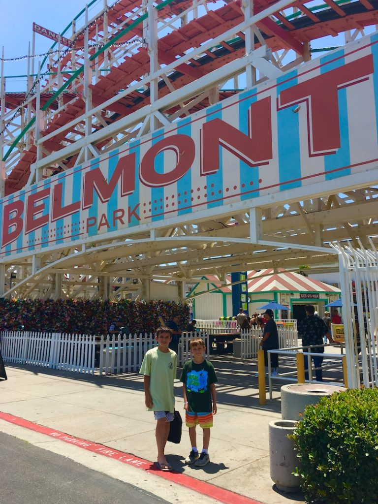 Belmont Park. Where to go in San Diego with kids.