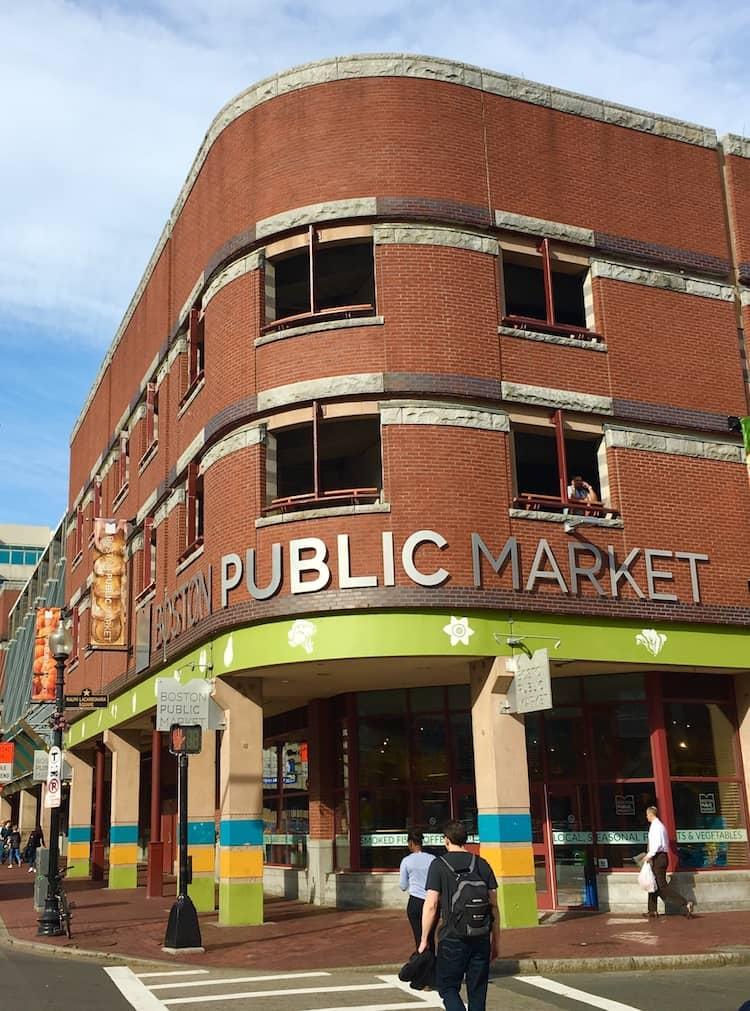 Boston Public Market. See Boston in One Day with kids. DIY Boston Foodie Tour.