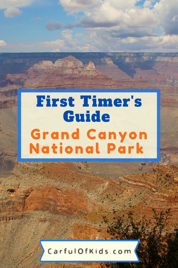 If it's your first trip to the Grand Canyon, here's the 12 places your family needs to see. Explore the Grand Canyon's South Rim in a few hours or a few days. Sharing the top trails and best sights for the South Rim. #NPS #NationalParks #GrandCanyon #Arizona Where to go at the Grand Canyon | Best trails at the Grand Canyon | What to see in a few hours at the Grand Canyon
