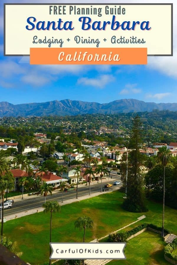 Explore Santa Barbara, California, along the central coast for your beach getaway. With amazing year-round weather, no reason to wait. Find the Santa Barbara zoo, several museums, parks and beaches to explore, perfect for a weekend away. As a bonus you can take the train to get to Santa Barbara. All the details for your next getaway, like where to stay and where to go. Where to stay in Santa Barbara   Where to go in Santa Barbara #California #SantaBarbara
