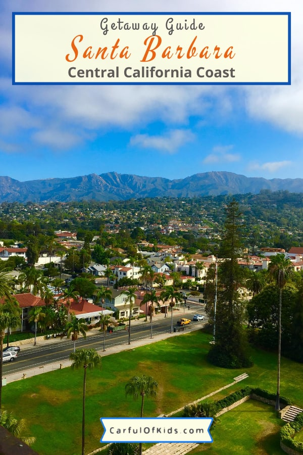 Explore Santa Barbara with your kids. With amazing year-round weather, no reason to wait. Got 11 places to explore, perfect for families and as a bonus you can take the train to get to Santa Barbara. All the details for your next getaway. #California #SantaBarbara Where to go in Santa Barbara with kids | Where to stay in Santa Barbara