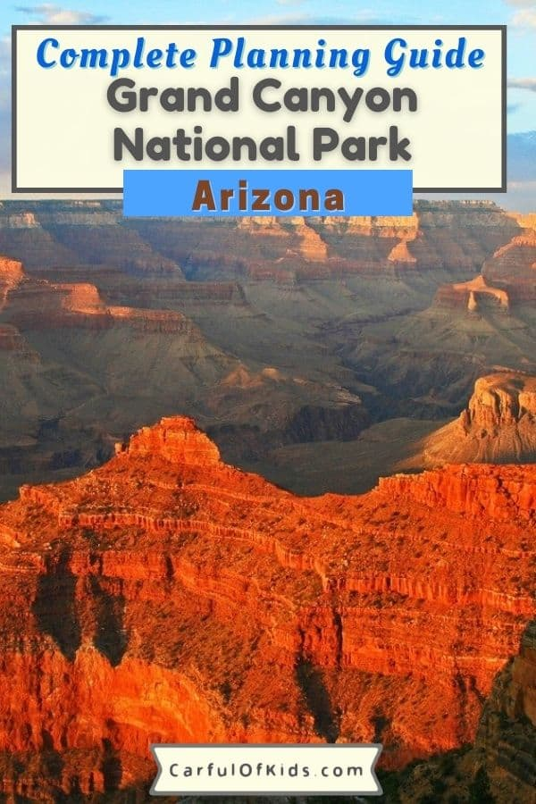 If it's your first trip to the Grand Canyon, here's a planning guide on what to see at the Grand Canyon, where to eat at the Grand Canyon and where to stay at the South Rim of the Grand Canyon. Find out where to camp and picnic spots too. Explore the Grand Canyon's South Rim in a few hours or a few days. #NationalParks #GrandCanyon #Arizona