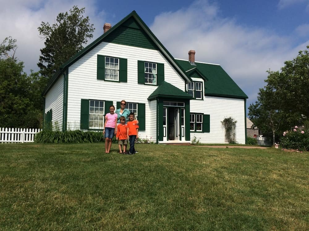 Anne of Green Gables House with Kids.