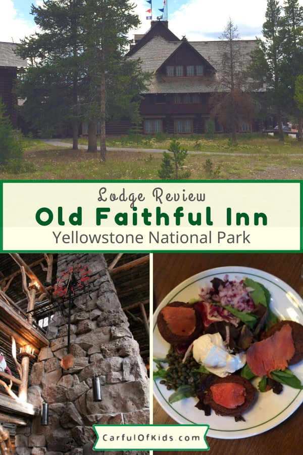It's the most requested lodge in Yellowstone National Park and kids love it. See all the original details, learn what's included in the rooms and what's missing. The Old Faithful Inn in Wyoming offers an excellent base while visiting Yellowstone National Park with lots of activities in the area. #NPS #YNP #Yellowstone #OldFaithfulInn Where to stay in Yellowstone National Park | Where to eat in Yellowstone National Park | Places to go in Yellowstone National Park