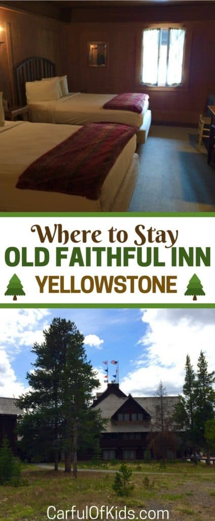 It's the most requested lodge in Yellowstone National Park and kids love it. See all the original details, learn what's included in the rooms and what's missing. See what Old Faithful Inn in Wyoming should be your base for your National Park Adventure.