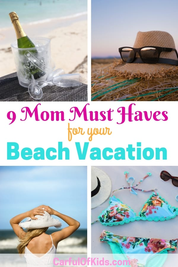 Your beach trip is booked. Now it's time to go shopping for some must haves for Moms. Look glamorous and comfortable this trip with these Mom Must Haves. #Beach