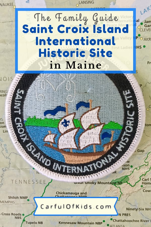Kids love adventure. So learn about the North American Explorers at the First French Colony in North America at the Saint Croix Island International Historic Site while exploring Maine along the Canadian border. #NPS #NationalPark #Maine National Parks in Maine
