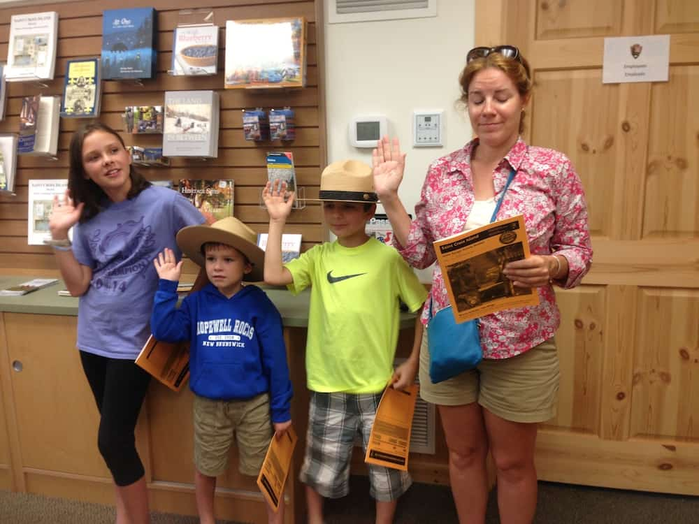 Earn a Junior Ranger badge. Things to do at Saint Croix in Maine with Kids
