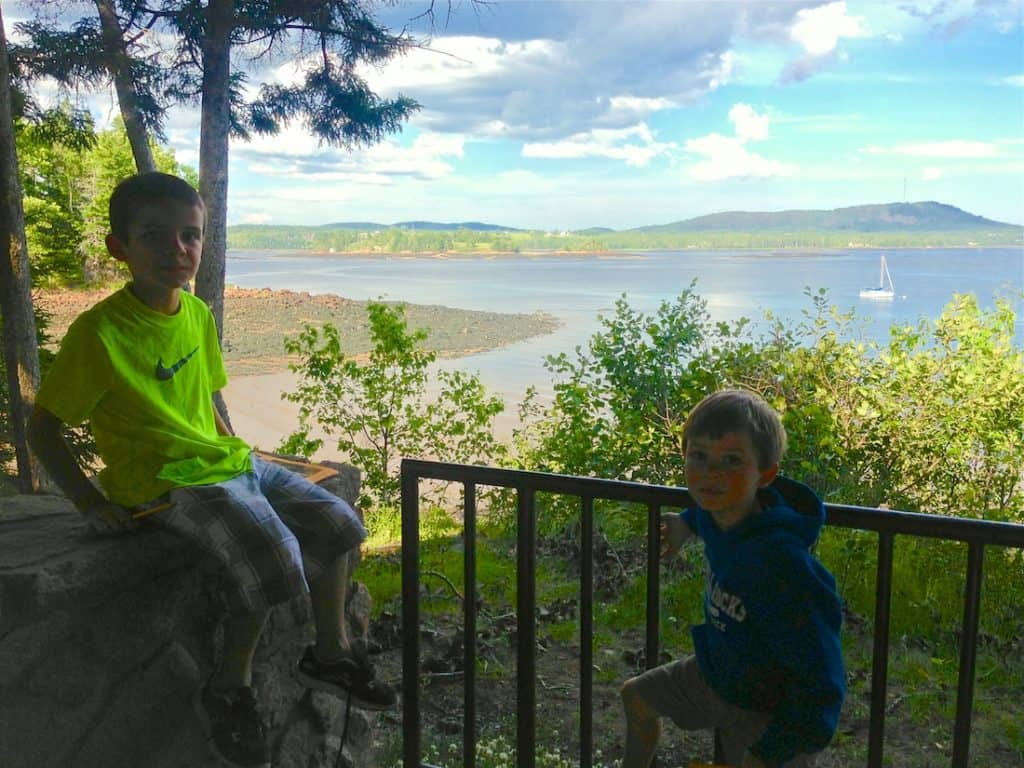 Take a hike. Things to do at Saint Croix in Maine with Kids