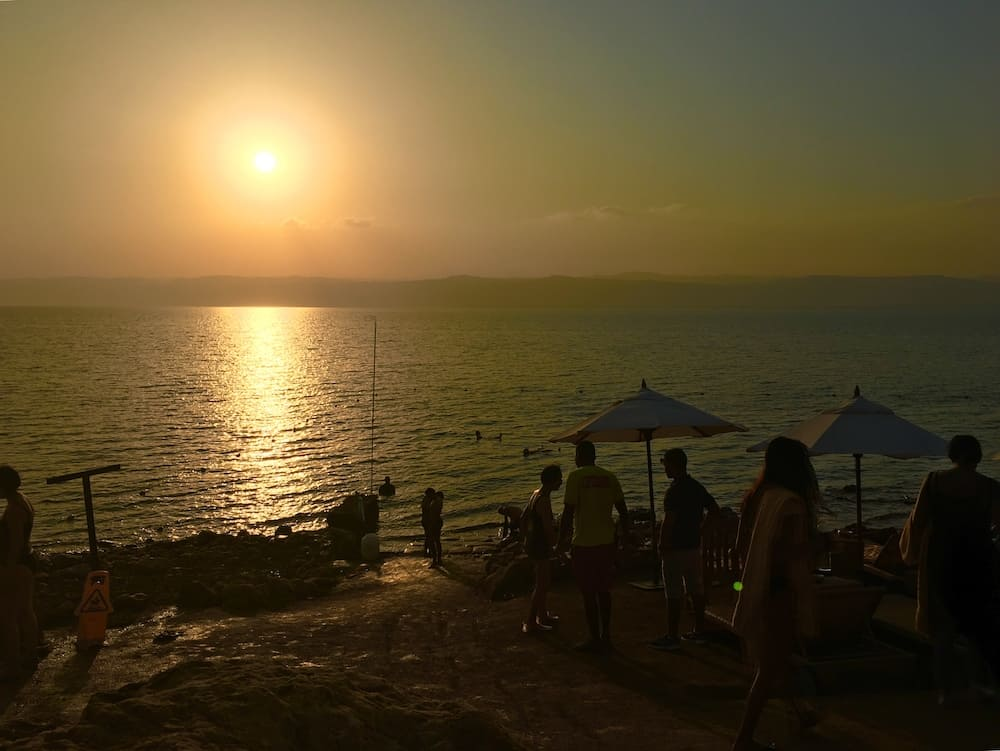 Dead Sea. Where to go in Jordan with kids.