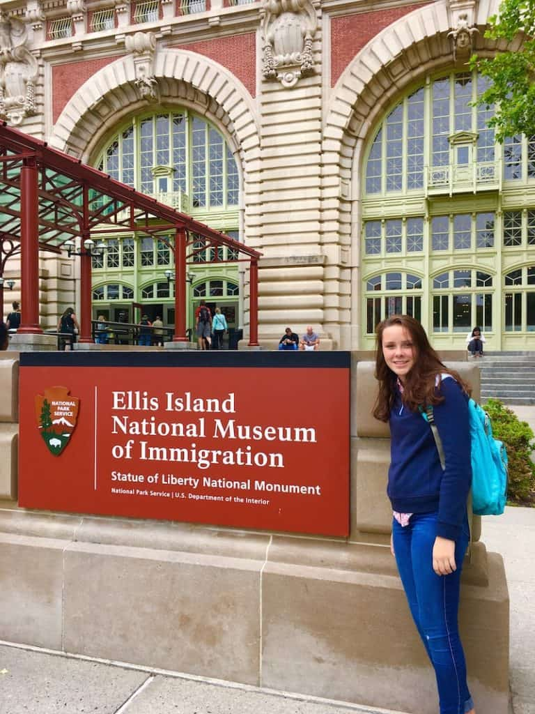 Ellis Island. Best New York City National Parks with kids.