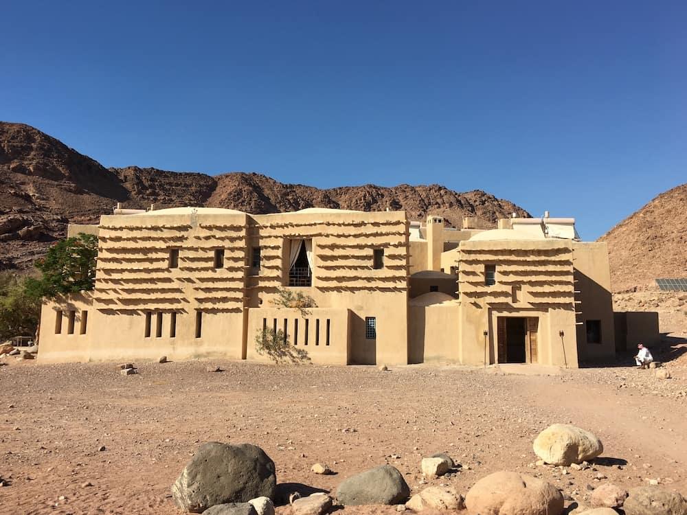 Feynan Ecolodge. Where to go in Jordan with kids.