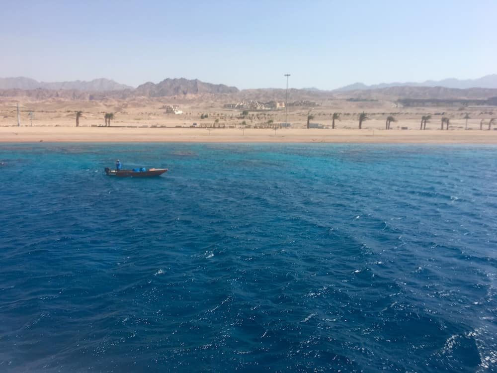 Red Sea. Where to go in Jordan with kids.