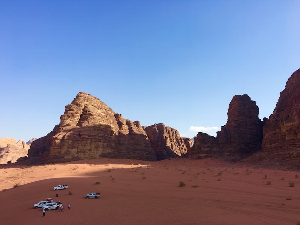Wadi Rum. Where to go in Jordan with kids.
