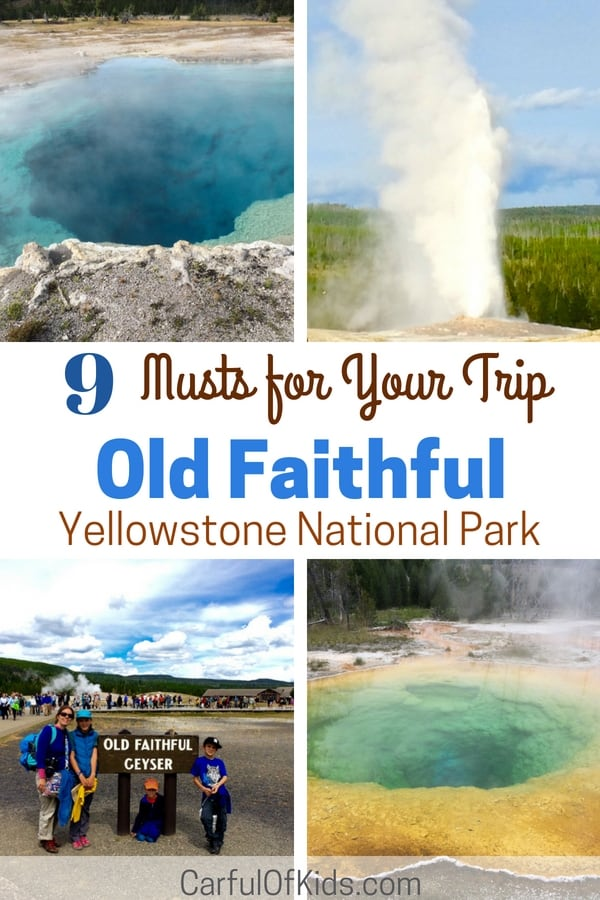 Old Faithful is more than the Geyser and the Inn, spend a day or two exploring the area. Hike through the largest concentrations of geysers in the world, see pools in every color of the rainbow and don't miss a huckleberry ice cream cone.