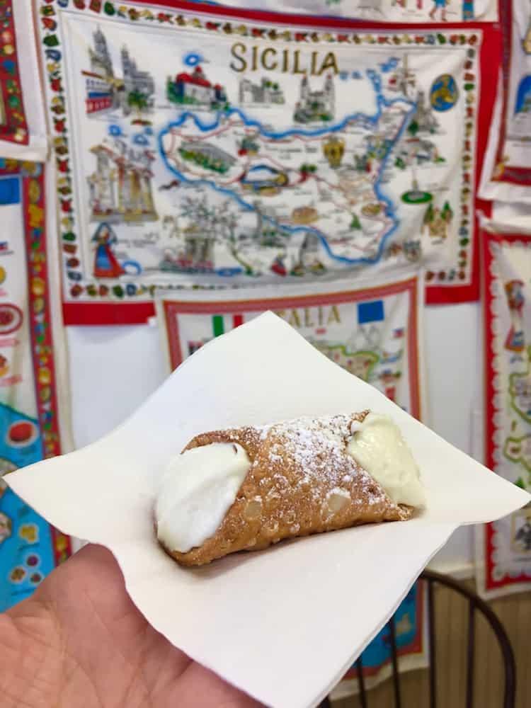 Italian Pastries. DIY Boston Foodie Tour.