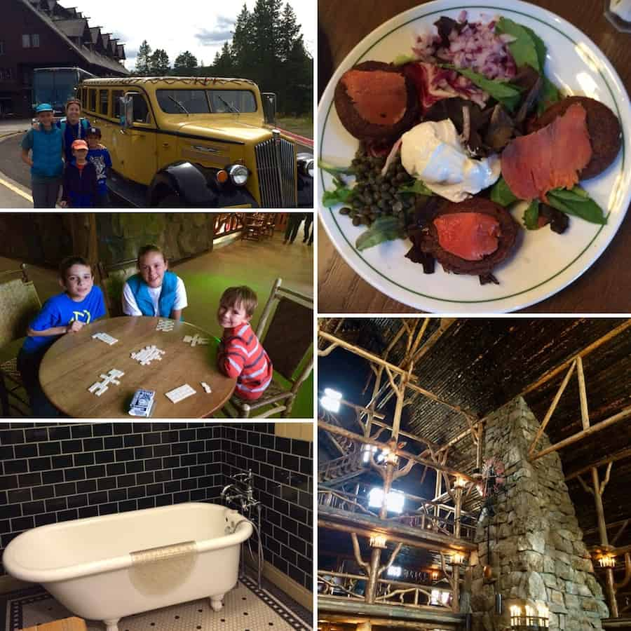 A stay in Old Faithful Inn enchants kids and adults alike. Photo Credit: Catherine Parker
