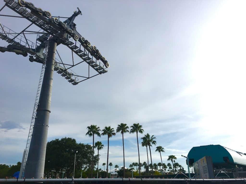Skyliner in Walt Disney World, a new gondola.