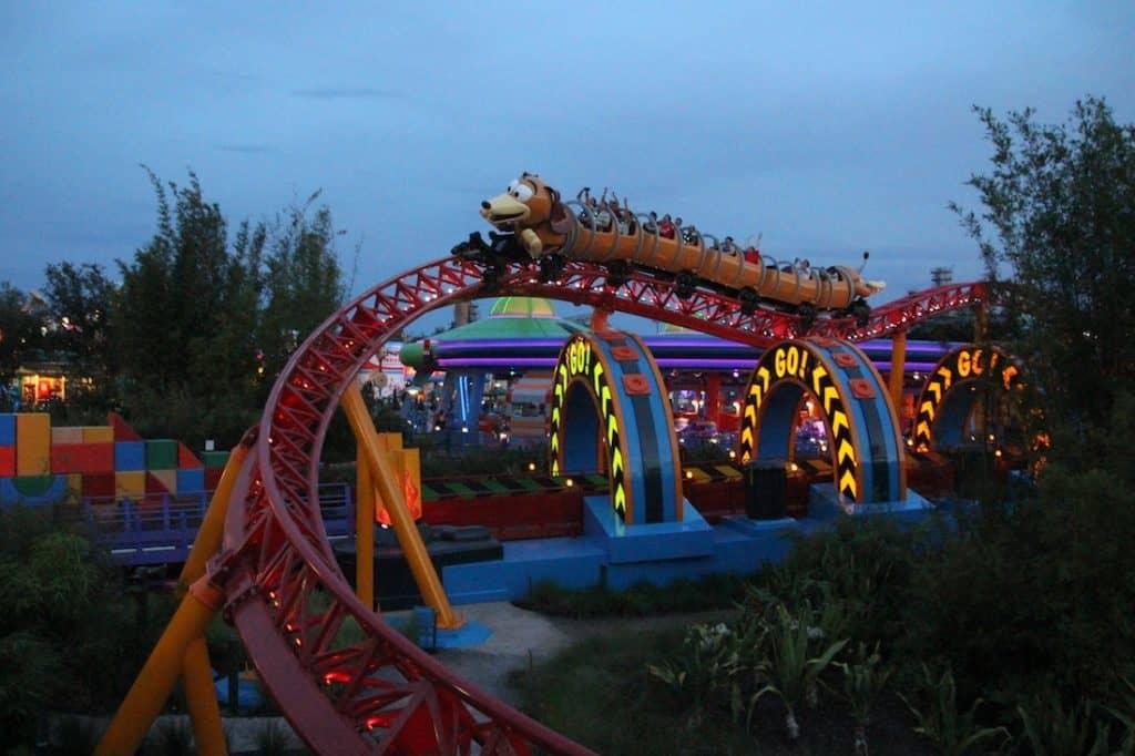 Slinky Dog Dash. Toy Story Land.