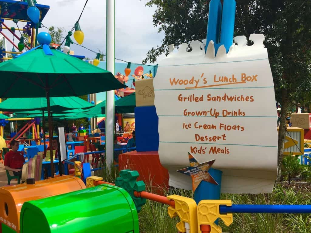 Toy Story Land in Hollywood Studios.