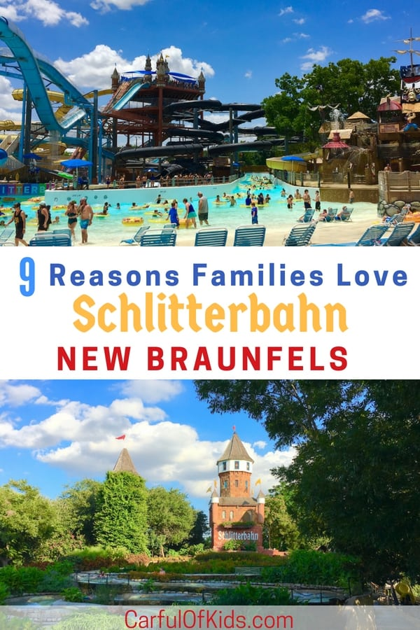 Set in New Braunfels, Texas, in-between Austin and San Antonio, Schlitterbahn had kept Texas cool for nearly 40 years. It's so large you can't do it all in one day. I've got all the reasons why it's the best water park in Texas for families along with some helpful tips for your trip. #BahnLove #WaterPark #FamilyTravel #TMOM
