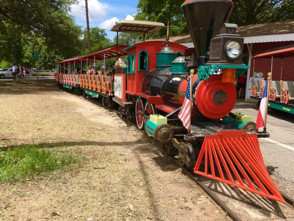 Landa Park Train. 3 day New Braunfels itinerary