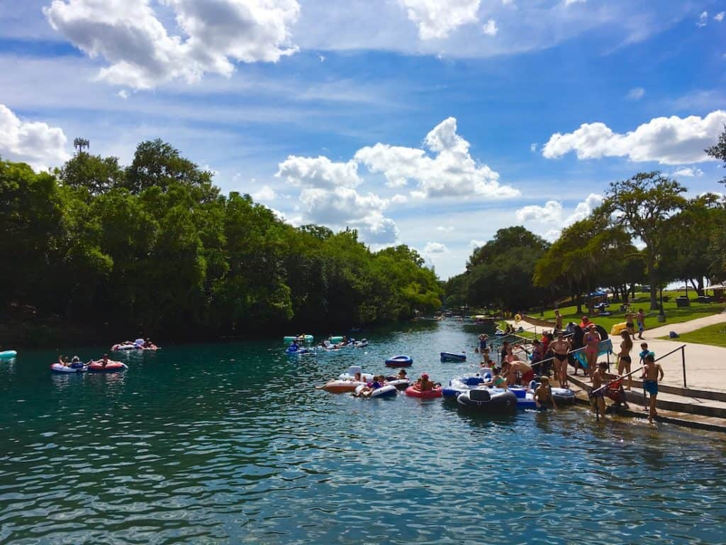 Prince Solms Park. 3 day New Braunfels itinerary
