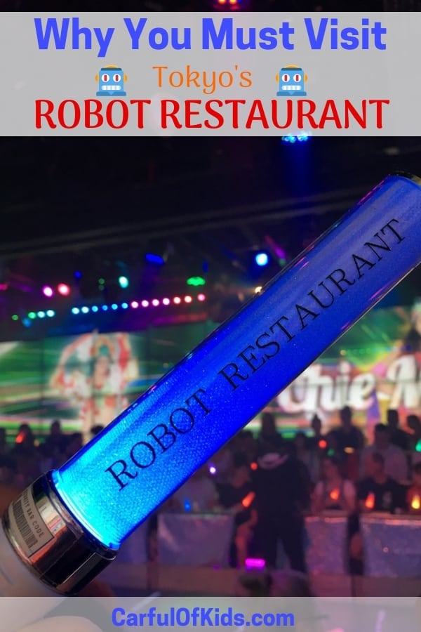 Is Robot Restaurant OK for kids? Sure if your kids are tweens and teens. Read on for what to expect from this Must for Tokyo. #Tokyo #RobotRestaurant