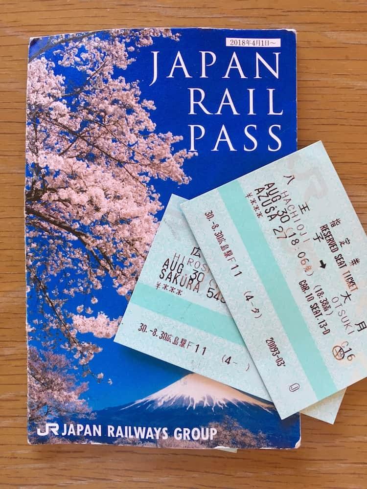 Japan Rail Pass. Japan Travel Checklist