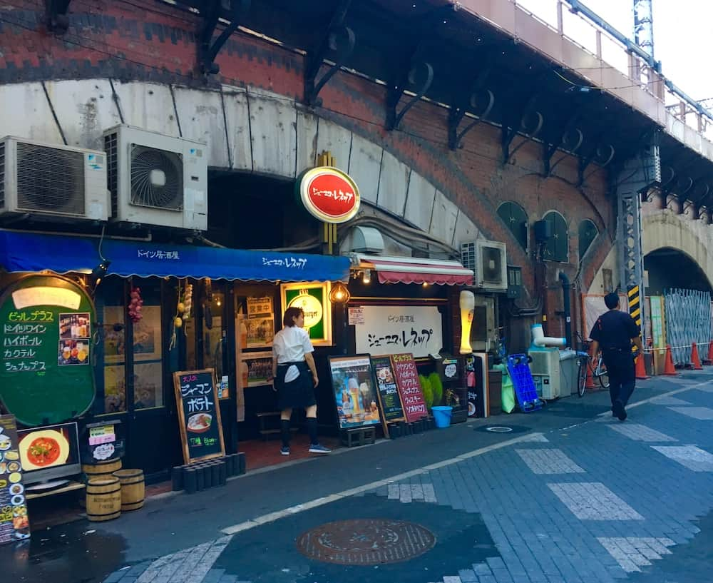 Yakitori Restaurant. Why taking a Tokyo Food Tour is helpful.
