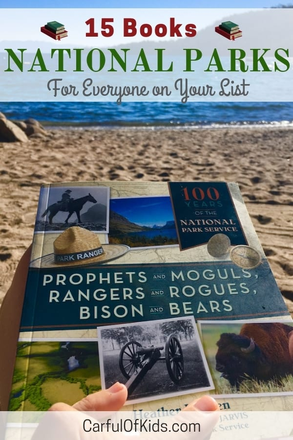 For outdoor adventurers, history buffs and kids alike there's a National Park book for everyone on your list. #NationalParks #TravelBooks #GiftGuide #Books