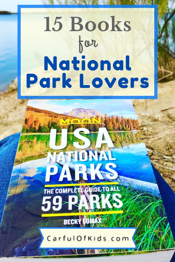 For outdoor adventurers, history buffs and kids alike there's a National Park book for everyone on your list. #NationalParks #NPS #TravelBooks #GiftGuide #Books Best Books for National Park Fans | Books about the National Parks