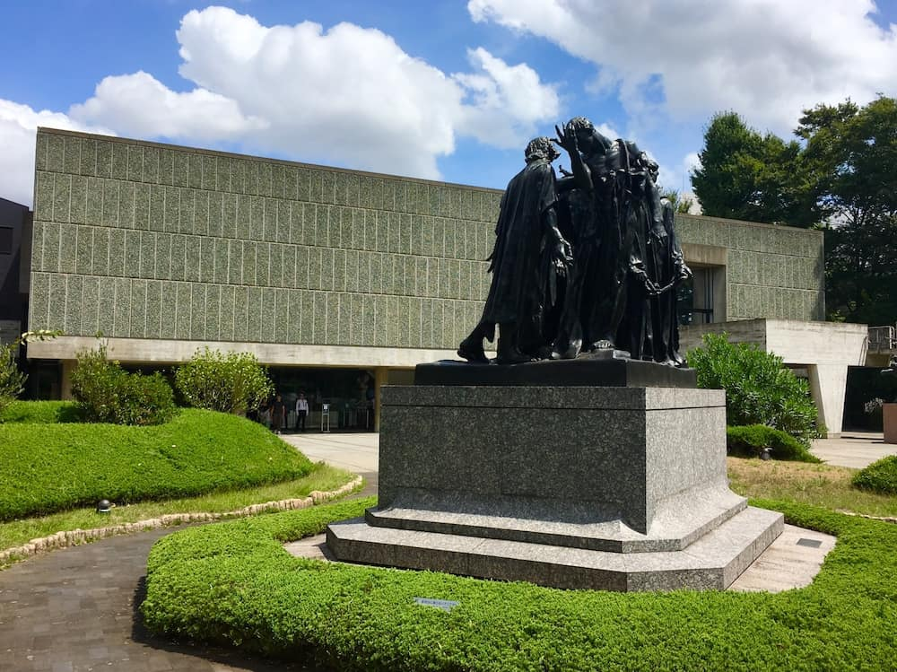 National Museum of Western Art in Tokyo. 3 day Tokyo Itinerary