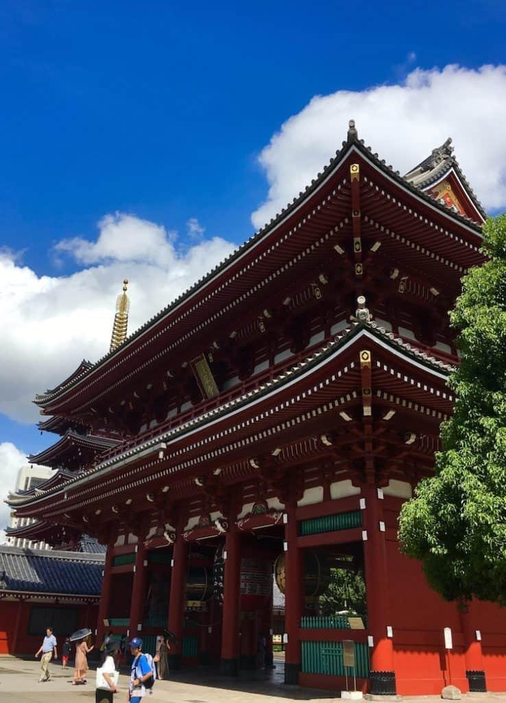 Senso ji Tokyo. 3 day Tokyo Itinerary