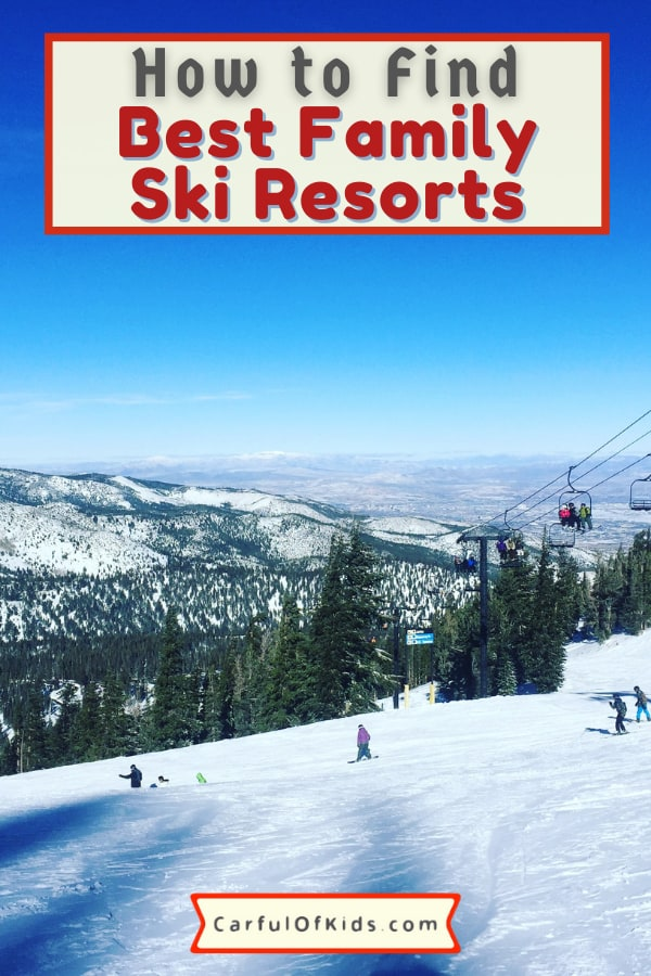 If it's your family's first ski trip, the ski resort makes a big difference. Not all resorts are family friendly with lots of green and easy blue skiing. Here's a list of things to consider before making a reservation and buying lift tickets. #Ski #FamilySki Best Ski Resorts for Families | How to pick a ski resort