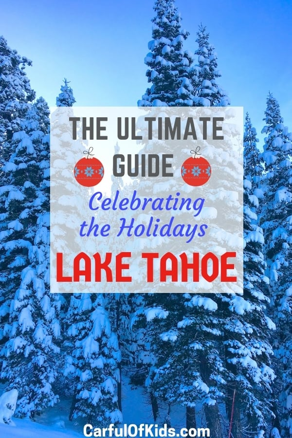 Celebrate the holiday in a postcard perfect landscapes with loads of outdoor winter fun. Find torchlight parades, fireworks and Santa sightings on the West and North shore of Lake Tahoe. #LakeTahoe #FamilySki #Holidays