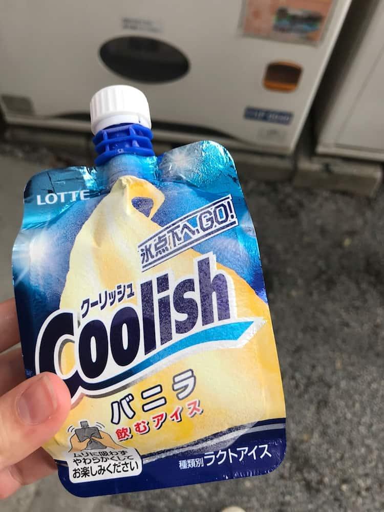 Vending machine ice cream. Japanese snacks you must try.