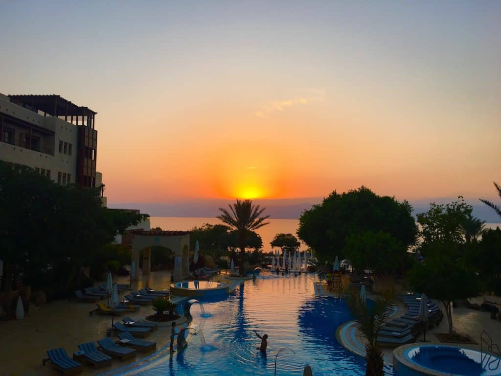 Where to stay at the Dead Sea.