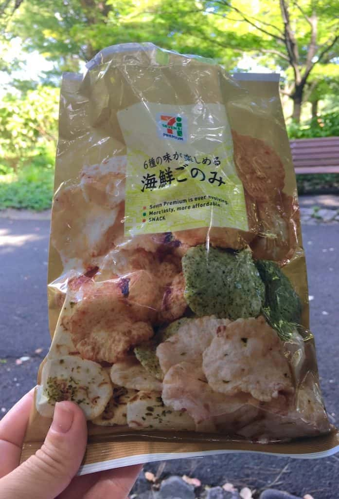 Rice Crackers. Japanese snacks you must try