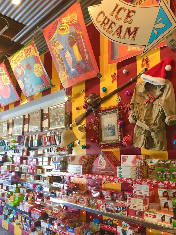 Big Top Candy Shop. Austin Itinerary