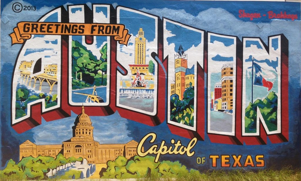 mural 4 day itinerary for Austin Texas