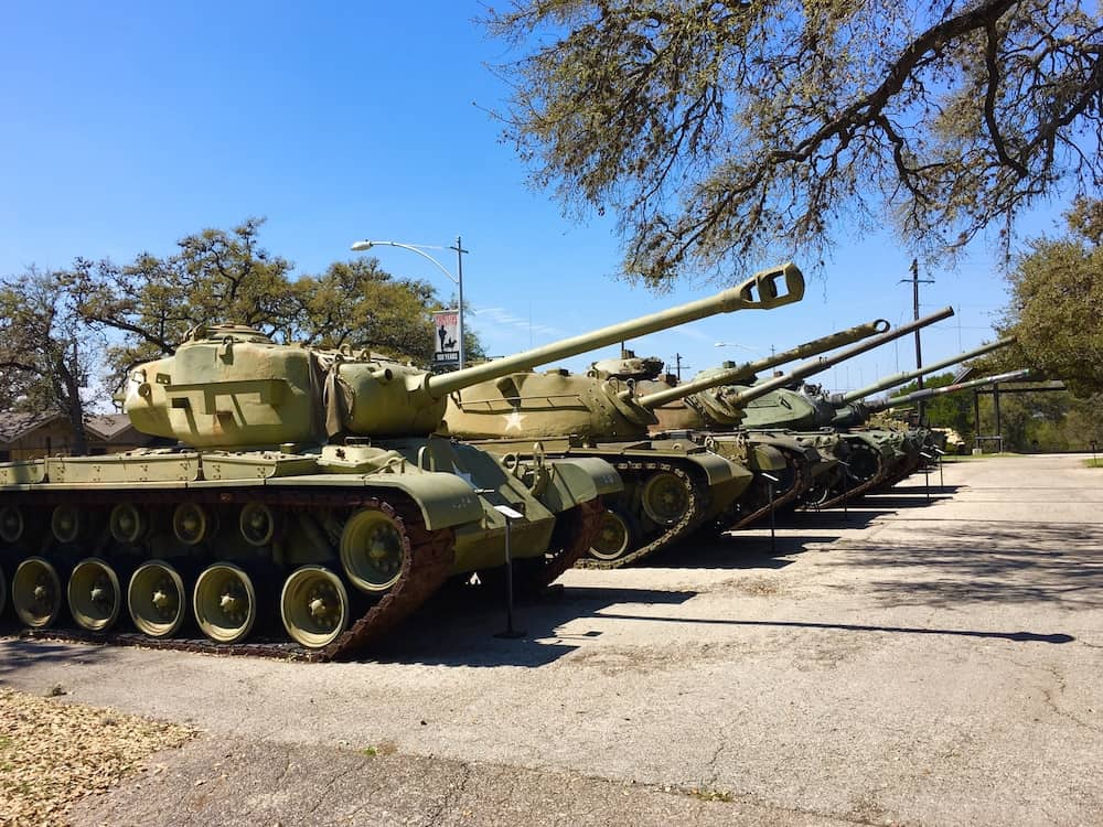 Texas Military Forces Museum. Austin Itinerary