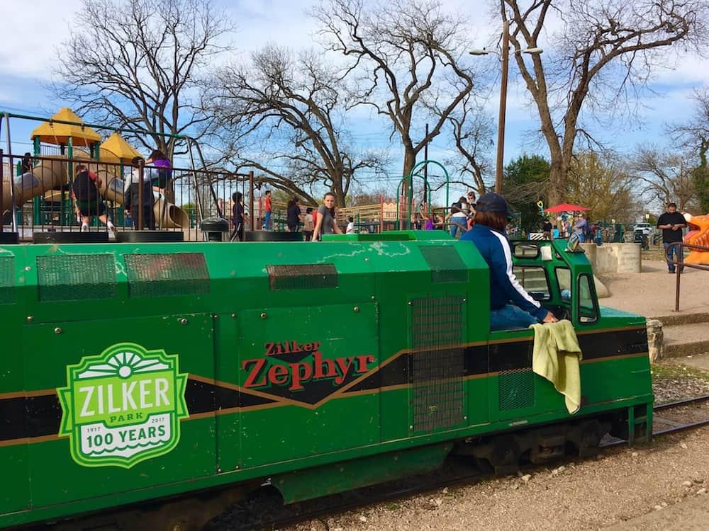Zilker Zephry. Austin Itinerary