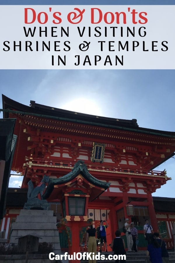 If you are traveling to Japan then visit some of the oldest Japanese structures, dating back 1,000 years. Get all the do's and don'ts for visiting a shrine or temple. #Japan #etiquette