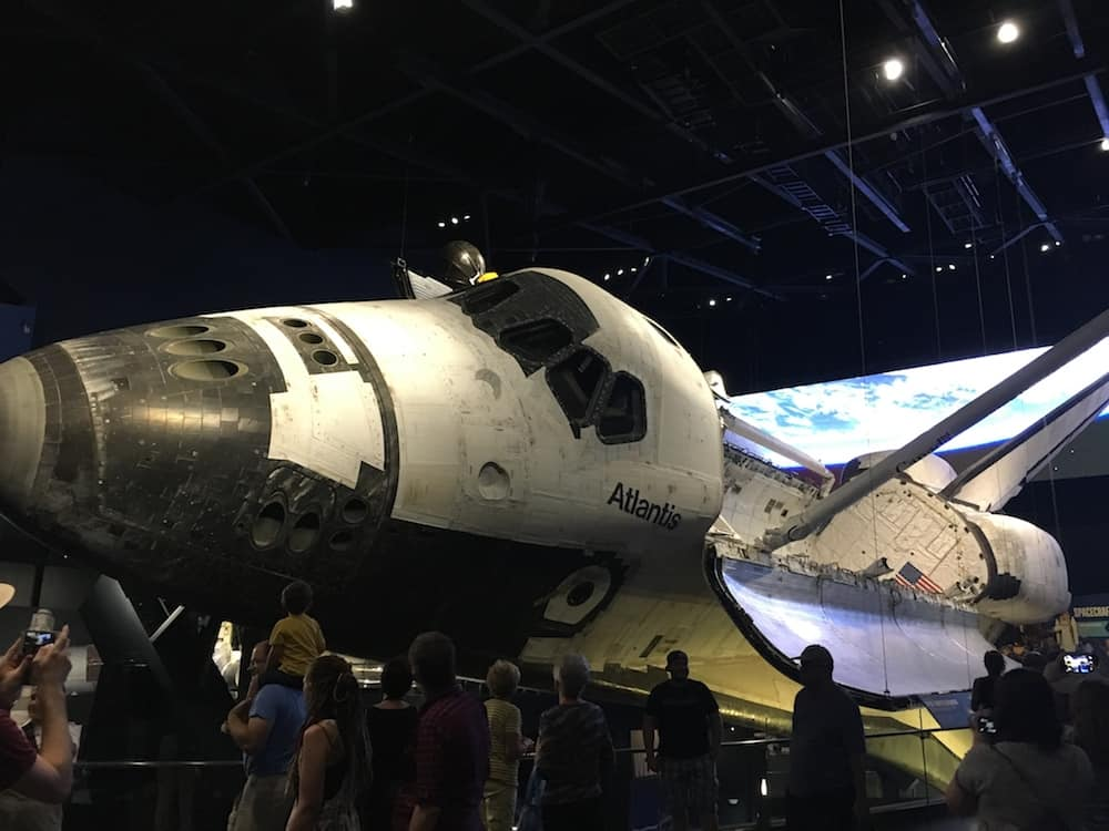 Where to see a retired Space Shuttle