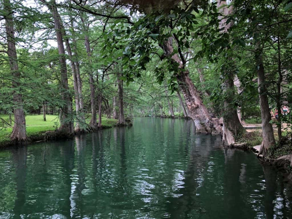 Blue Hole in Wimberley. Texas Swimming Holes