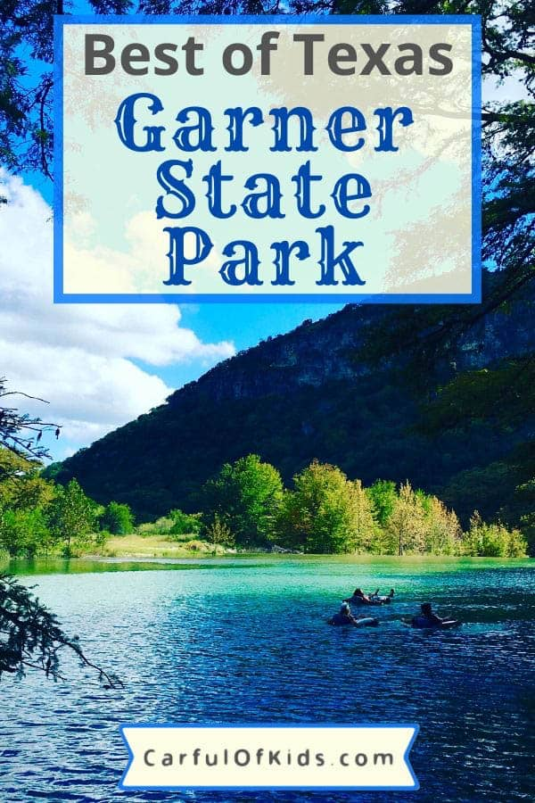 Located in the western edge of the Texas Hill Country, Garner State Park is an iconic state park. Actually the most popular state park in Texas. Enjoy the cool water of the Frio River or a hike up Old Baldy or take in a dance. Got all the details for Garner State Park along with Concan, the quaint town down the highway. Plan a trip to see why it's been a favorite for generatons. #GarnerStatePark #BestTexasStatePark Most Popular State Park in Texas | Best of Texas | Top River Floats in Texas | Texas Cabins | Where to do in the Texas Hill Country