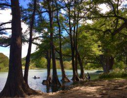 perfect spring getaway to Garner State Park