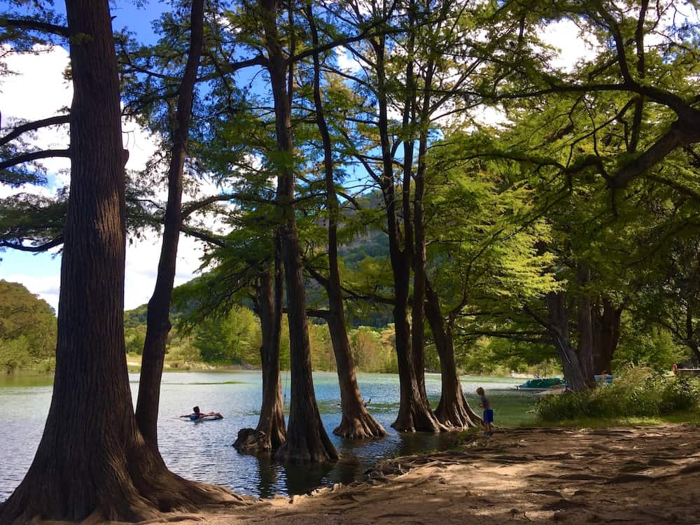 perfect spring getaway to Garner State Park. Texas swimming holes